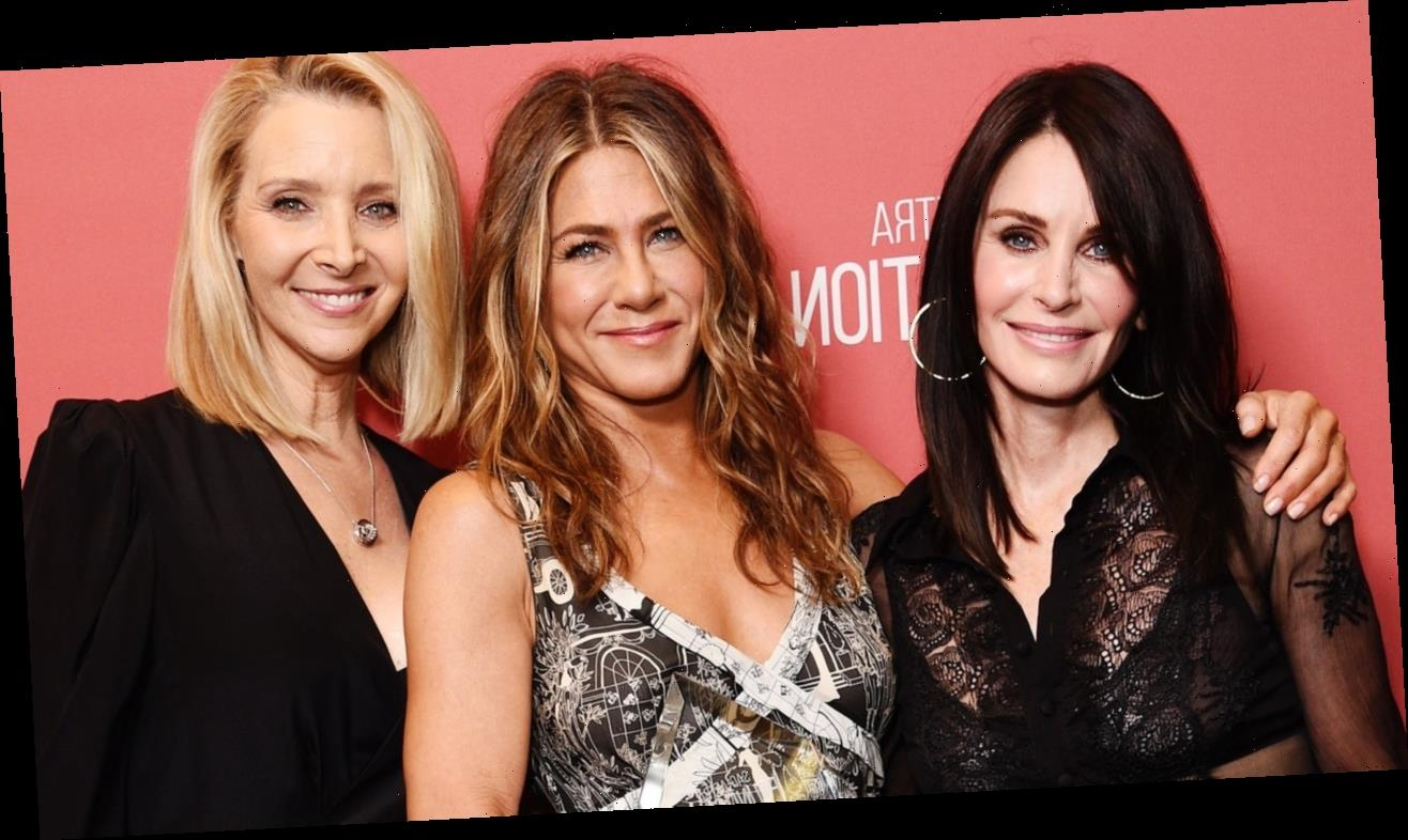 Jennifer Aniston, Courteney Cox, and Lisa Kudrow Just Reunited for a Very Important Reason