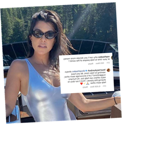 Kourtney Kardashian Responds To Critic's 'Donate More Money' Comment With Kindness