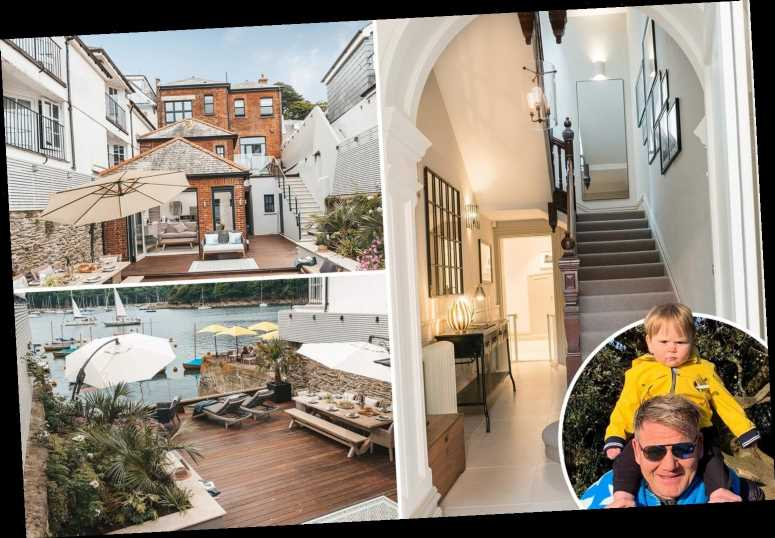 Inside Gordon Ramsay's incredible £2.7m Cornwall family home that you can rent for £6,000 a week