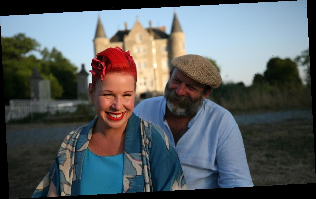 Viewers brand Dick and Angel Strawbridge as 'relationship goals' while watching Escape to the Chateau