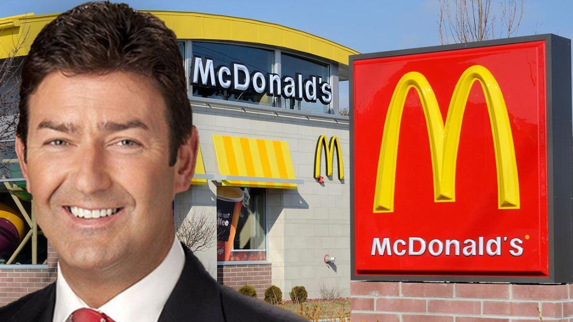 McDonald's suing former CEO Steve Easterbrook, alleges he lied about employee relationships