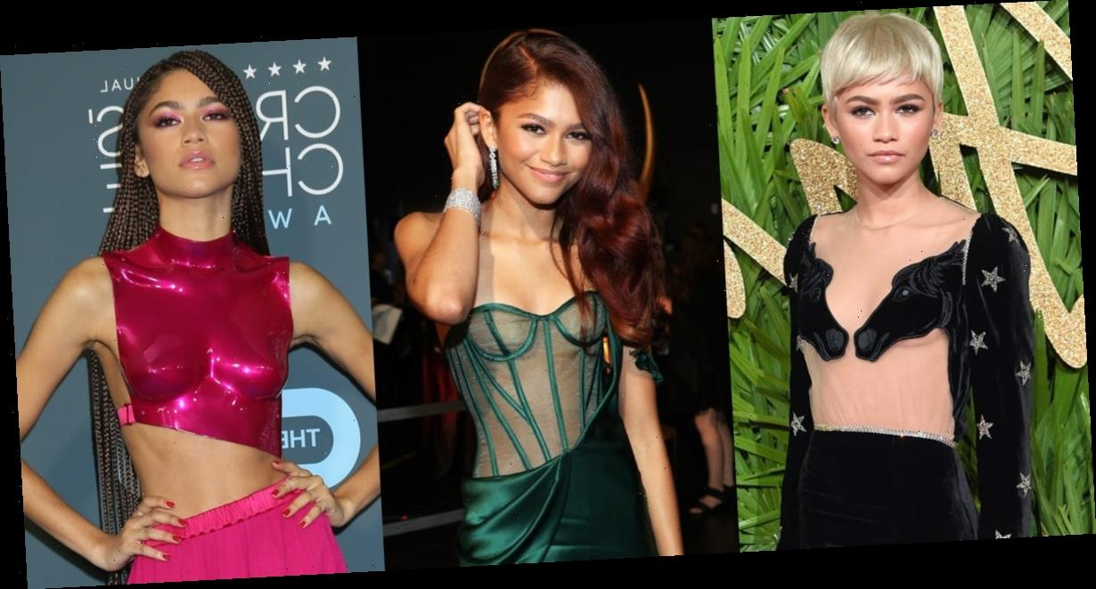 The most daring outfits Zendaya has ever worn, from sheer gowns to eye-catching pantsuits