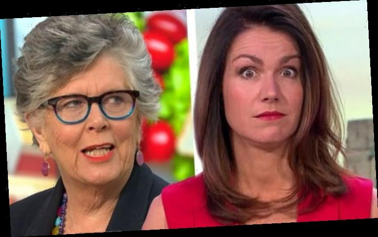 Susanna Reid: GMB host recalls awkward Prue Leith moment 'That was me told'
