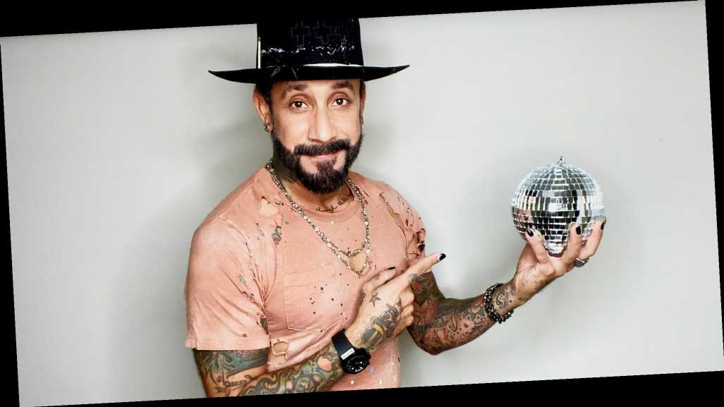 AJ McLean's Wife and Daughters Surprise Him Ahead of 'DWTS' Premiere: Pics