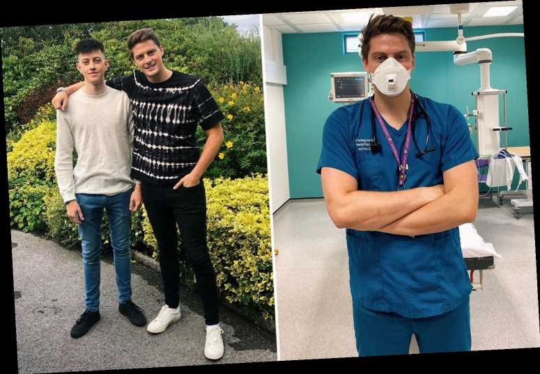 Dr Alex George says losing his brother Llyr is making him do 'everything in his power' to help mental health sufferers