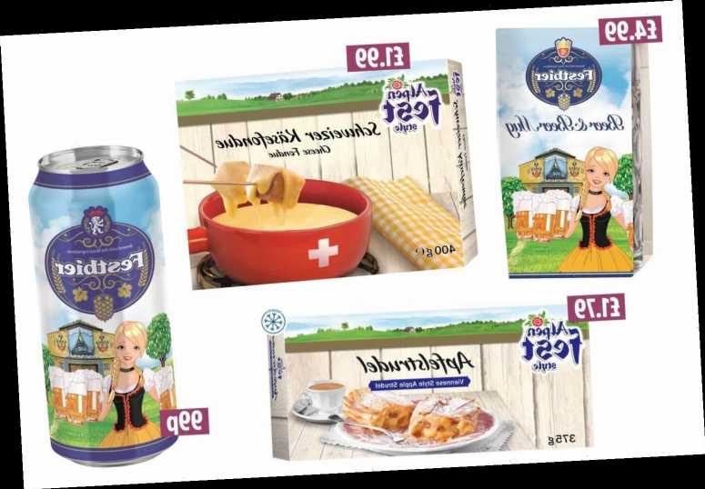 Lidl's new Alpenfest range starts from as little as 99p – here are the best deals from Fest beer to apple strudel