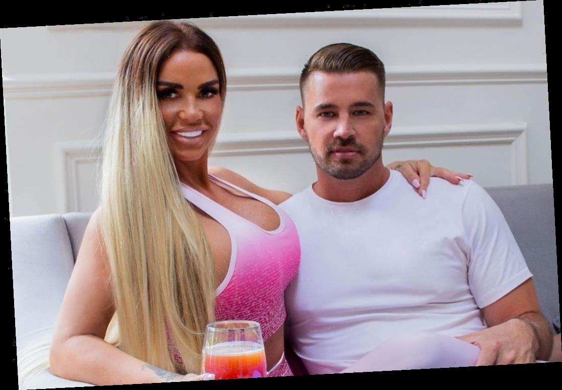 Katie Price sparks pregnancy rumours as she teases 'something is brewing' with boyfriend Carl Woods