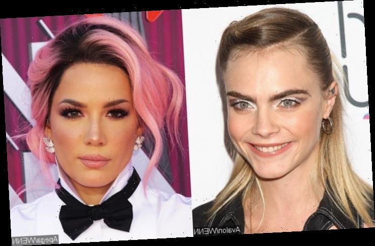 Cara Delevingne and Halsey Secretly Hooking Up, but Not 'Tied Down'