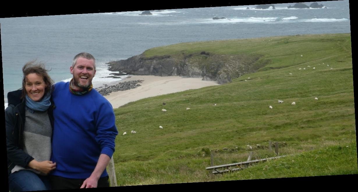 Inside the surreal life of a young couple who won a viral contest to live for free on a remote Irish island without electricity or hot water