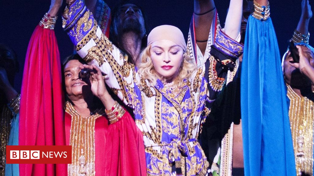 Madonna angry after London show is cut short