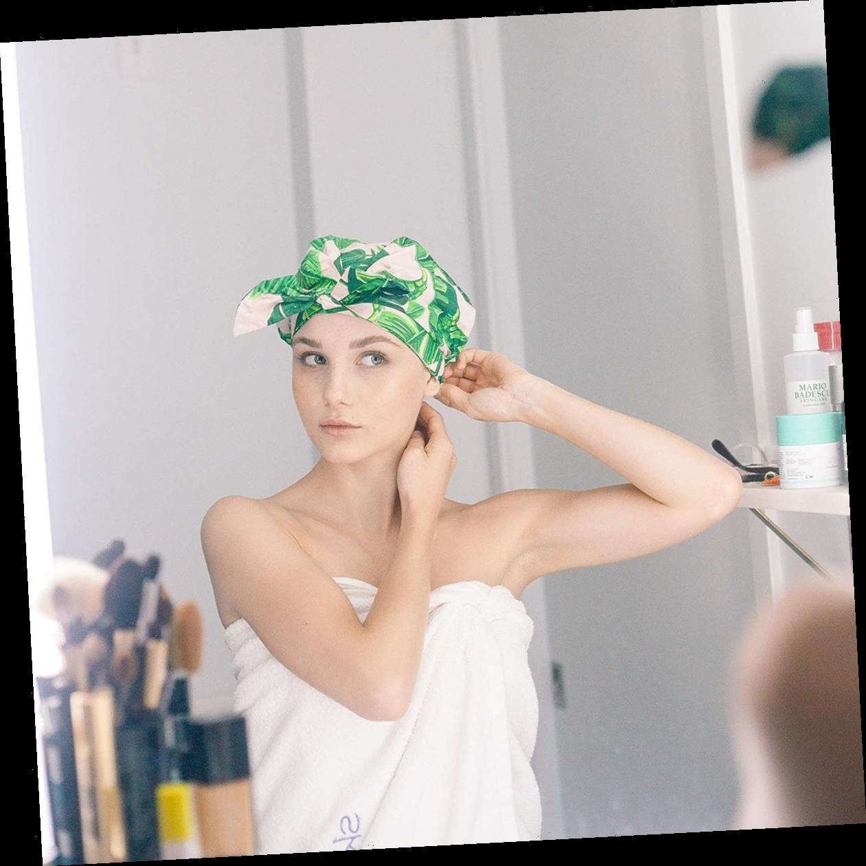 3 High-Quality Shower Caps That Are Actually Kind Of Chic