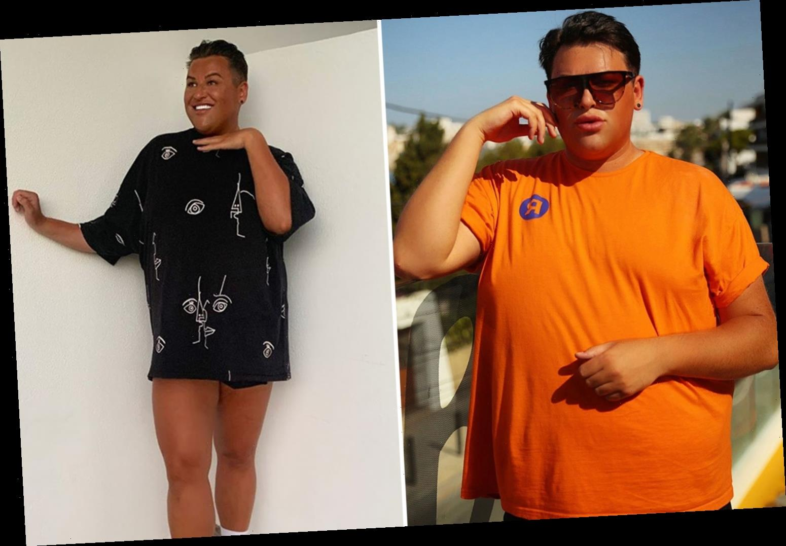 Ibiza Weekender's David Potts reveals two and a half stone weight loss after working out so hard he 'almost throws up'