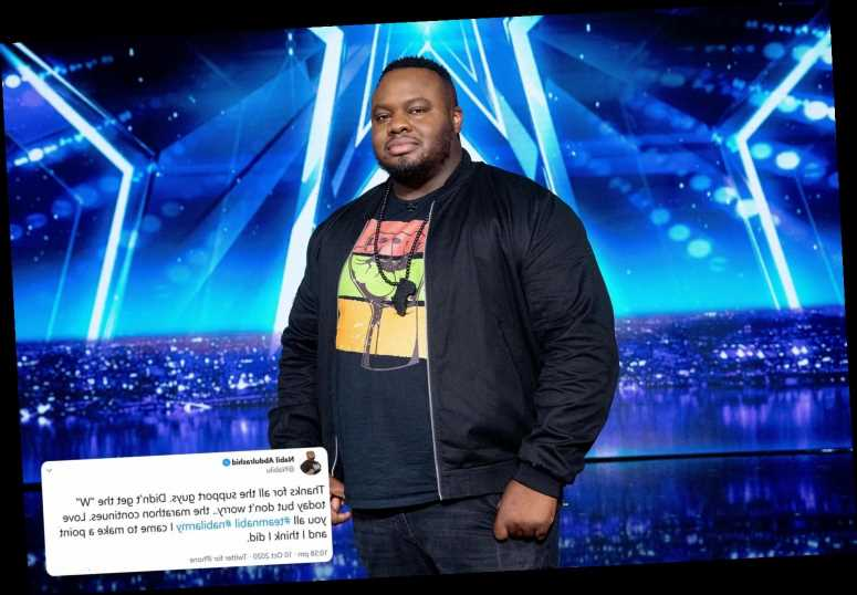 BGT's Nabil Abdulrashid says he 'came to make a point' in defiant tweet as fans say he was 'robbed' in the final