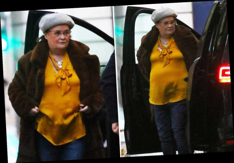 Susan Boyle looks chic on rare night out in London days after Britain's Got Talent final