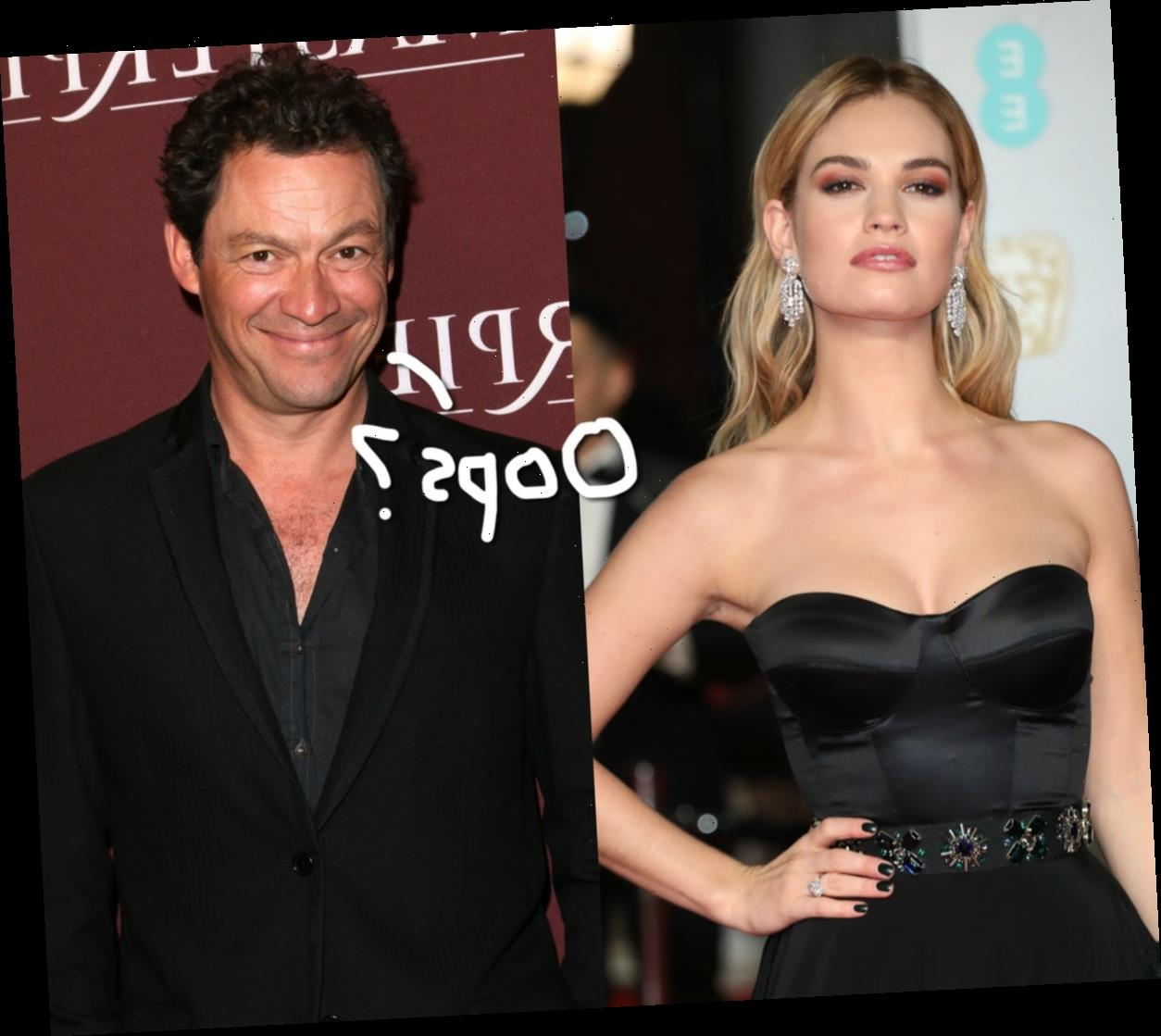 Lily James & Dominic West Were Openly 'Very Flirtatious' On Set Of New Show!