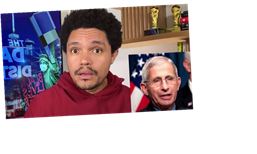 """Trevor Noah Takes On Columbus Day Controversy, Proposes Italian Americans Celebrate """"Italian American Hero"""" Dr. Anthony Fauci Instead"""