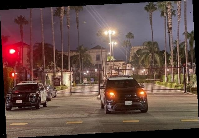 Paramount Lot Stand-Off Ends With Suspect in Police Custody, No Officers Harmed (Photos)