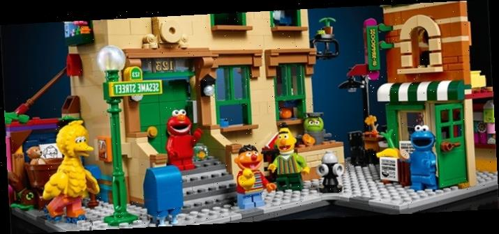 Cool Stuff: Can You Tell Me How to Build, How to Build LEGO Sesame Street?