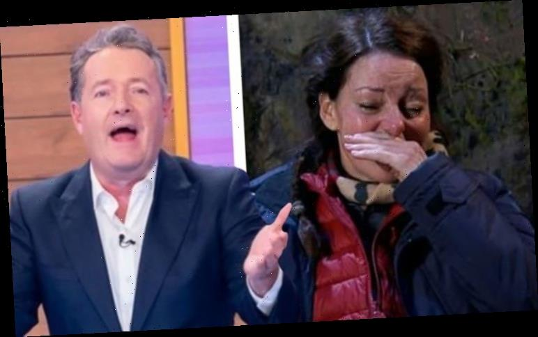 Piers Morgan: GMB host takes swipe I'm a Celebrity star Ruthie for putting on 'waterworks'