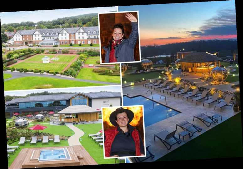Inside the posh Cheshire hotel Carden Park where I'm A Celebrity stars stay after getting kicked out of camp