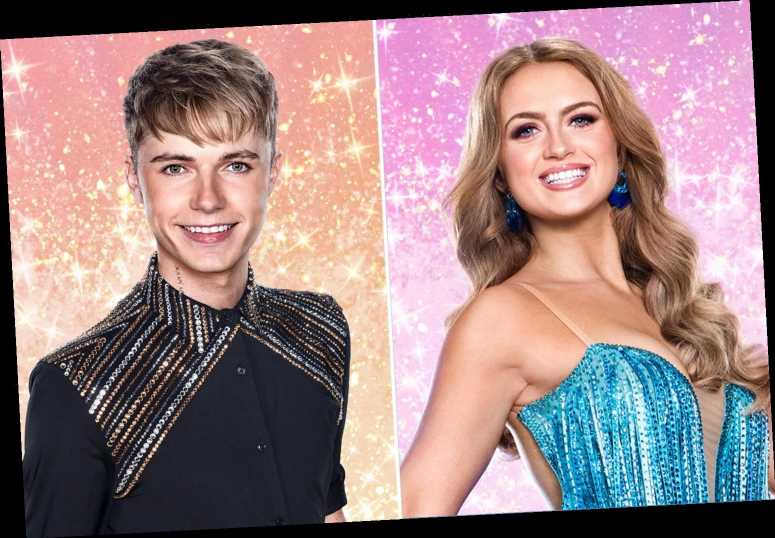 Strictly's Maisie Smith says there was an 'instant connection' between her and HRVY – and doesn't rule out dating him