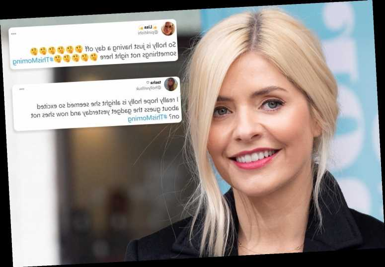 Holly Willoughby sparks concern as she misses This Morning – with Alison Hammond her last-minute replacement