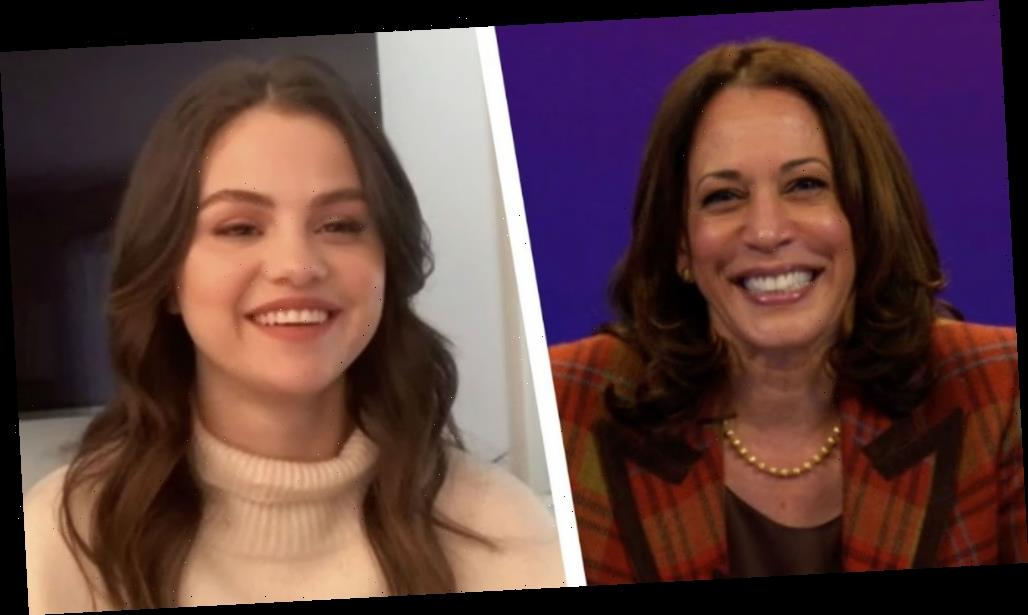 Selena Gomez talks to Kamala Harris: In the past I wasn't very educated with voting