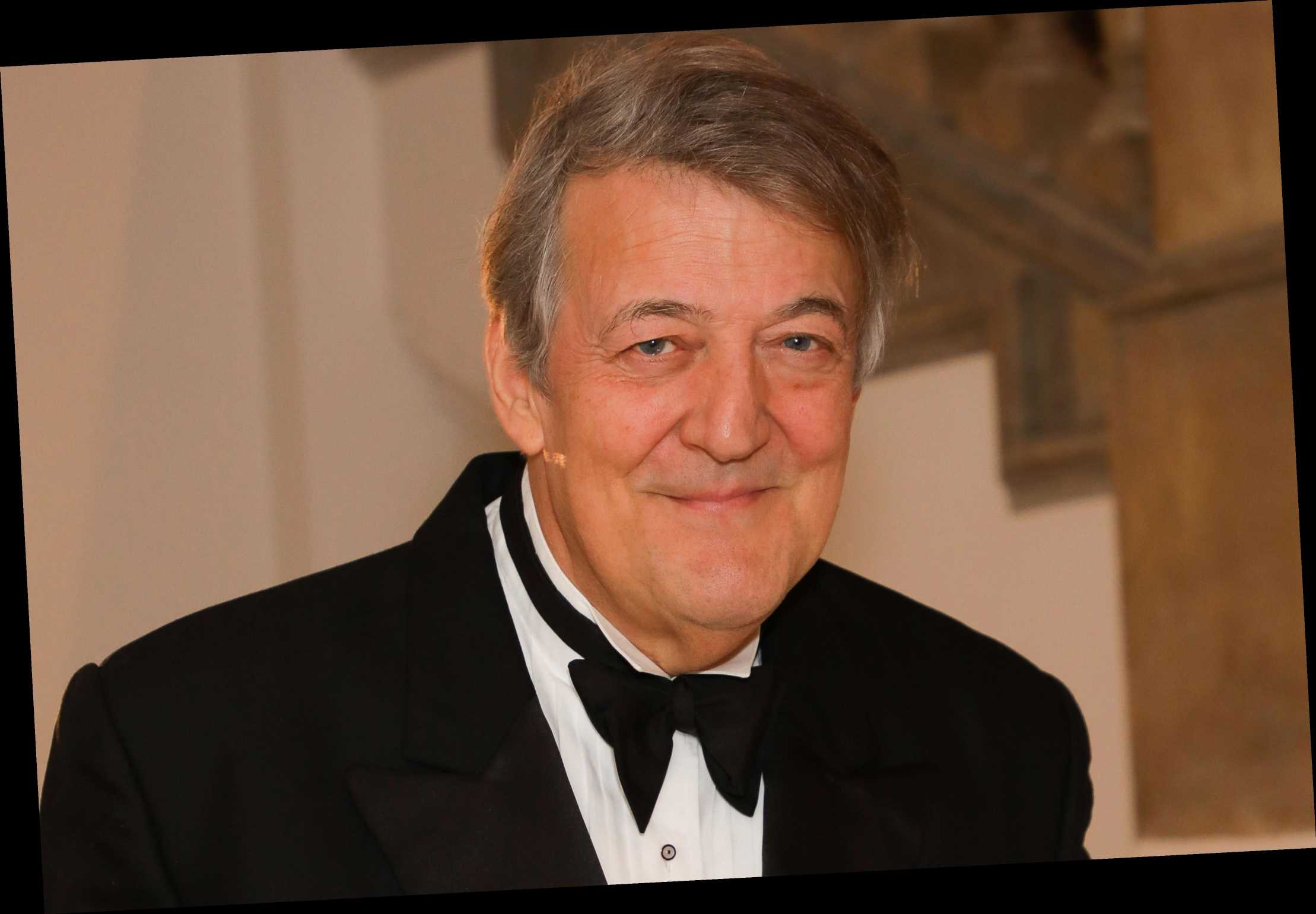 Stephen Fry urges men not to put off prostate cancer tests during pandemic