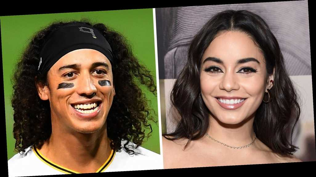 Vanessa Hudgens Was Seen Holding Hands with Baseball Player Cole Tucker