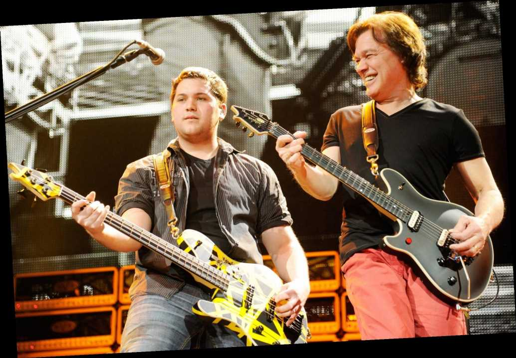 Eddie Van Halen's Son Wolf Says 'It's Hard Being Here Without' Him 1 Month After His Death