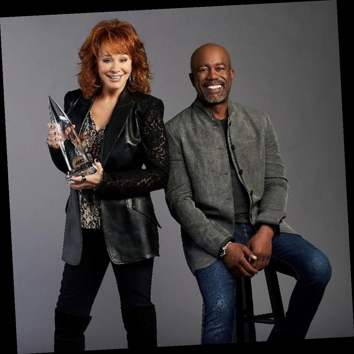 Reba McEntire and Darius Rucker Tease What's to Come for the 2020 CMA Awards
