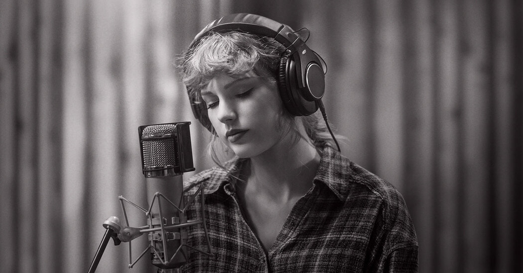 Taylor Swift Illuminates 'Folklore' in a Stripped-Down Studio Concert