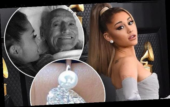 Ariana Grande's engagement ring may pay homage to her late grandpa
