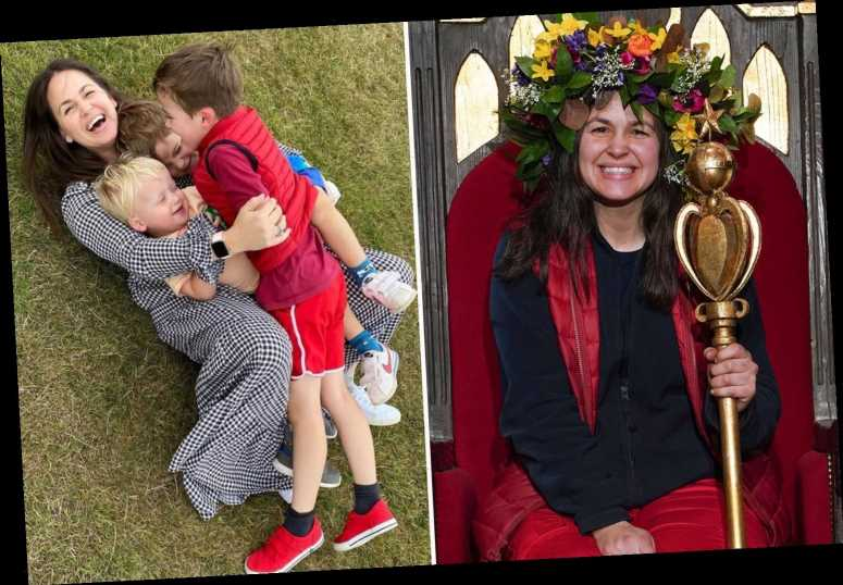 I'm A Celeb winner Giovanna Fletcher says she's back to mum life with a 'bang' and expects a 'few tantrums'