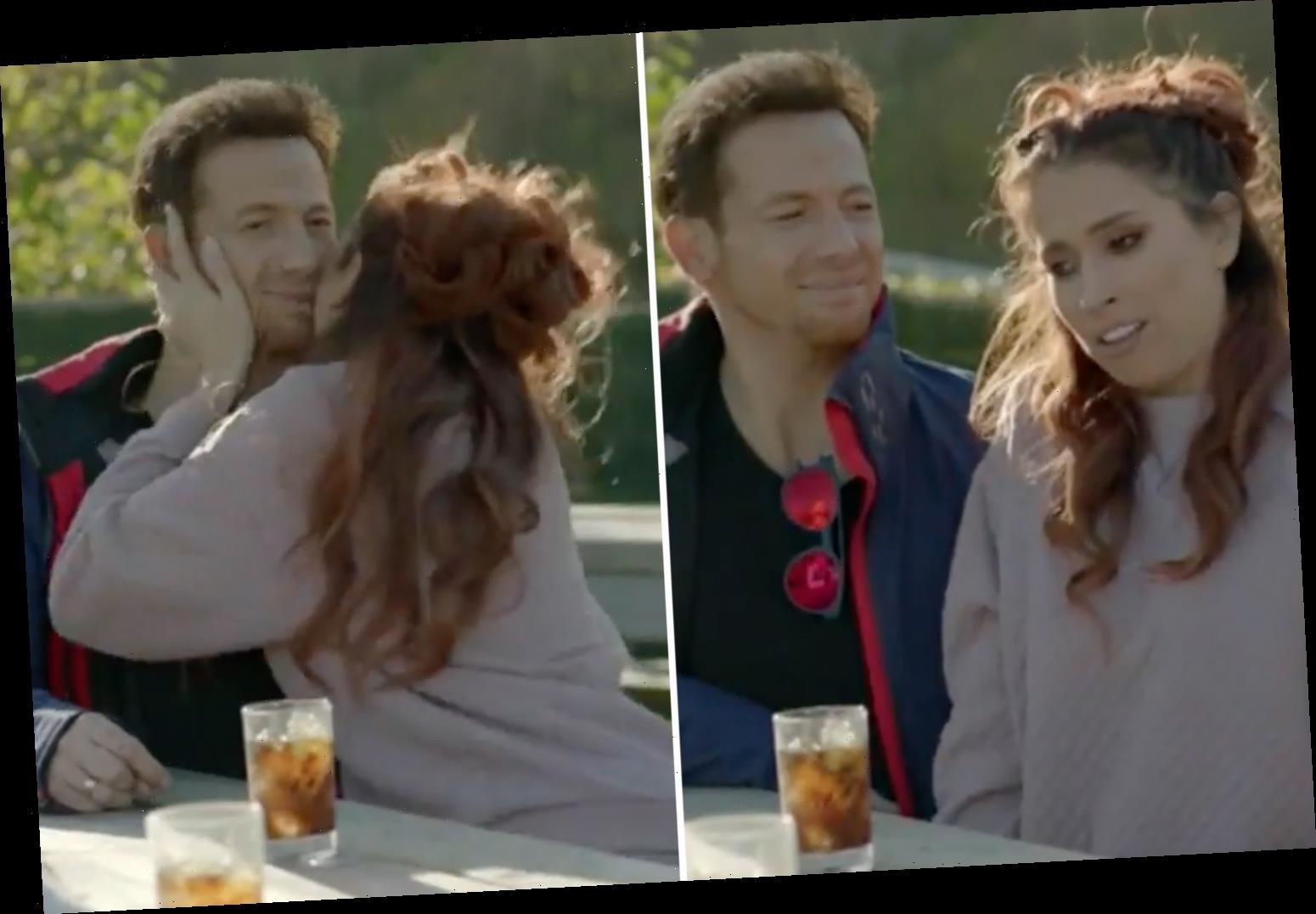 Joe Swash says his first snog with Stacey Solomon was like 'kissing a dead person'