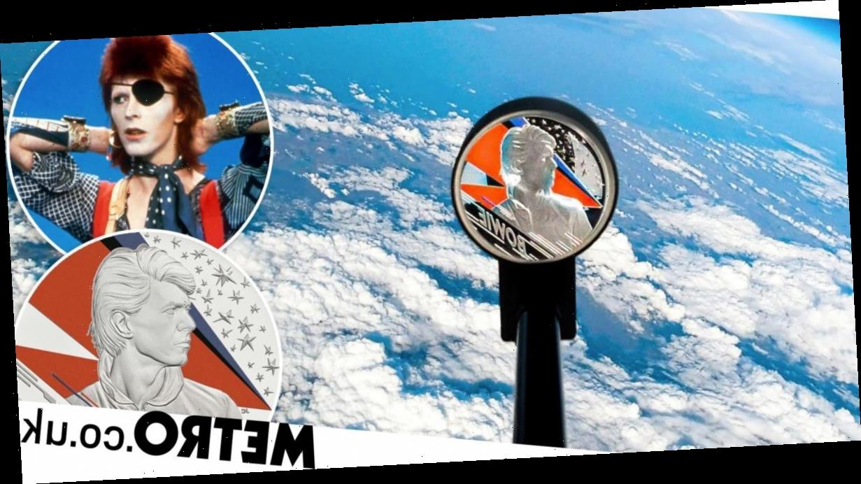 David Bowie coin launched into space in ultimate Starman move