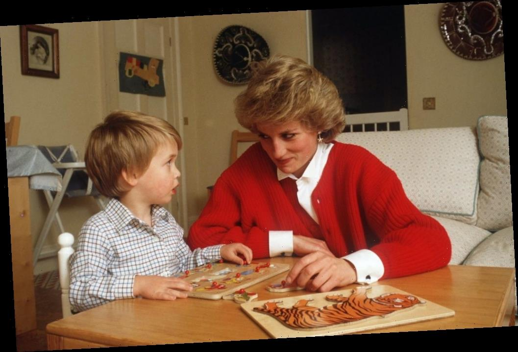 Watch Prince William Do Princess Diana's Makeup in This Adorable Video