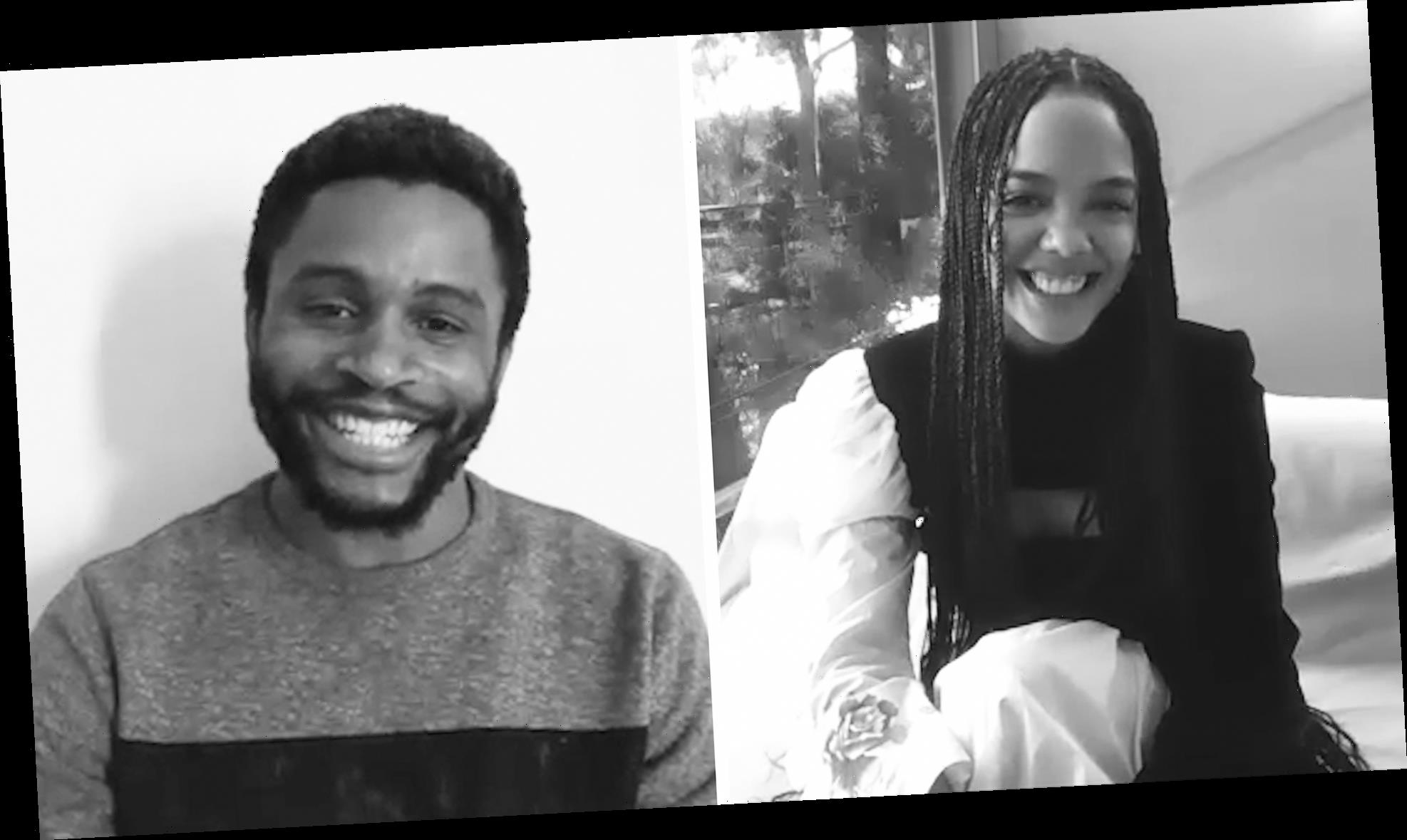 'The First Time' With Tessa Thompson and Nnamdi Asomugha