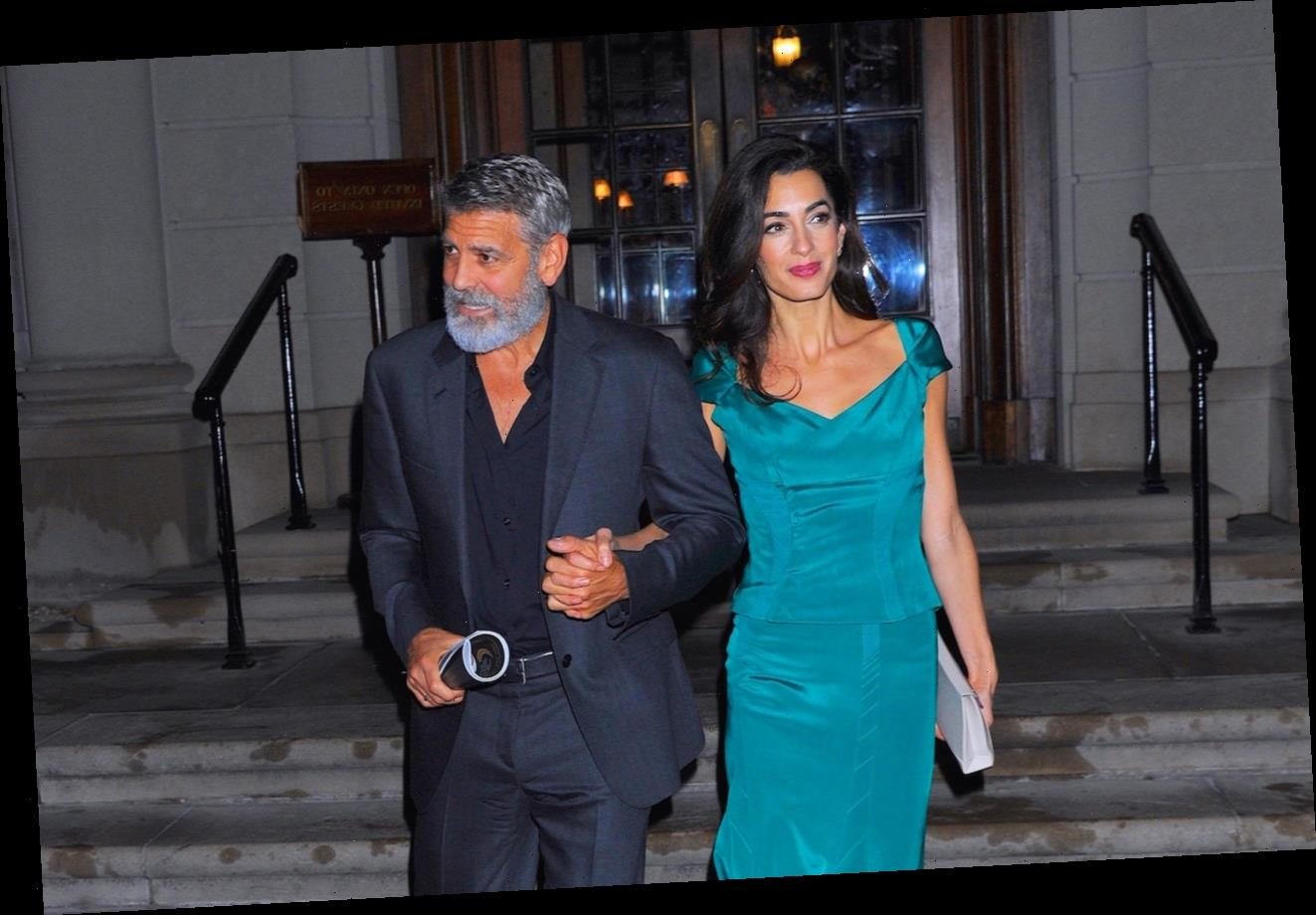 George Clooney Didn't Think His Wife Amal Would Like Him At First — 'I'm 17 Years Older Than Her, She Might Have Thought I Was Grandpa'