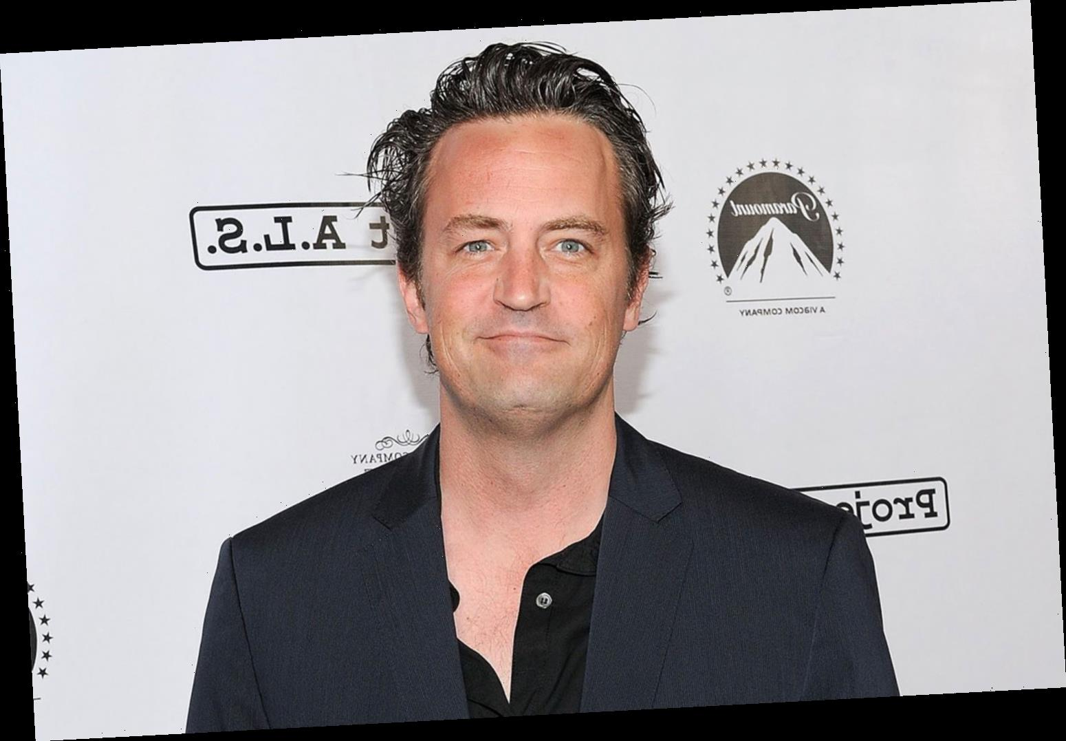 Matthew Perry Shares First Images of Fiancée Molly Hurwitz to Promote His Friends Merch Line