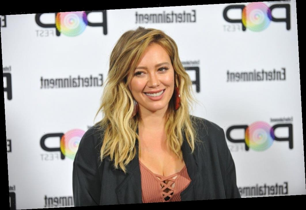 Hilary Duff says she was hospitalized for an eye infection over the holidays