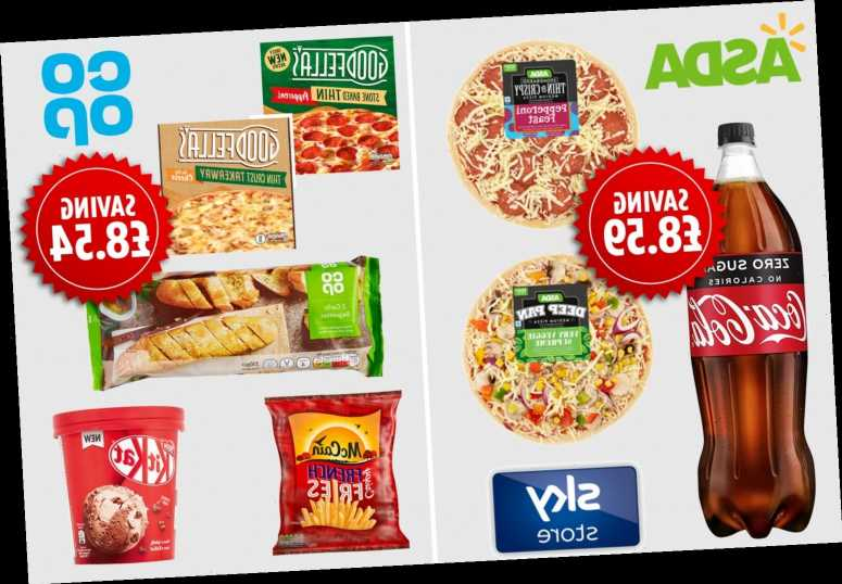 Best supermarket £5 meal deals compared including Asda, Co-op and Iceland