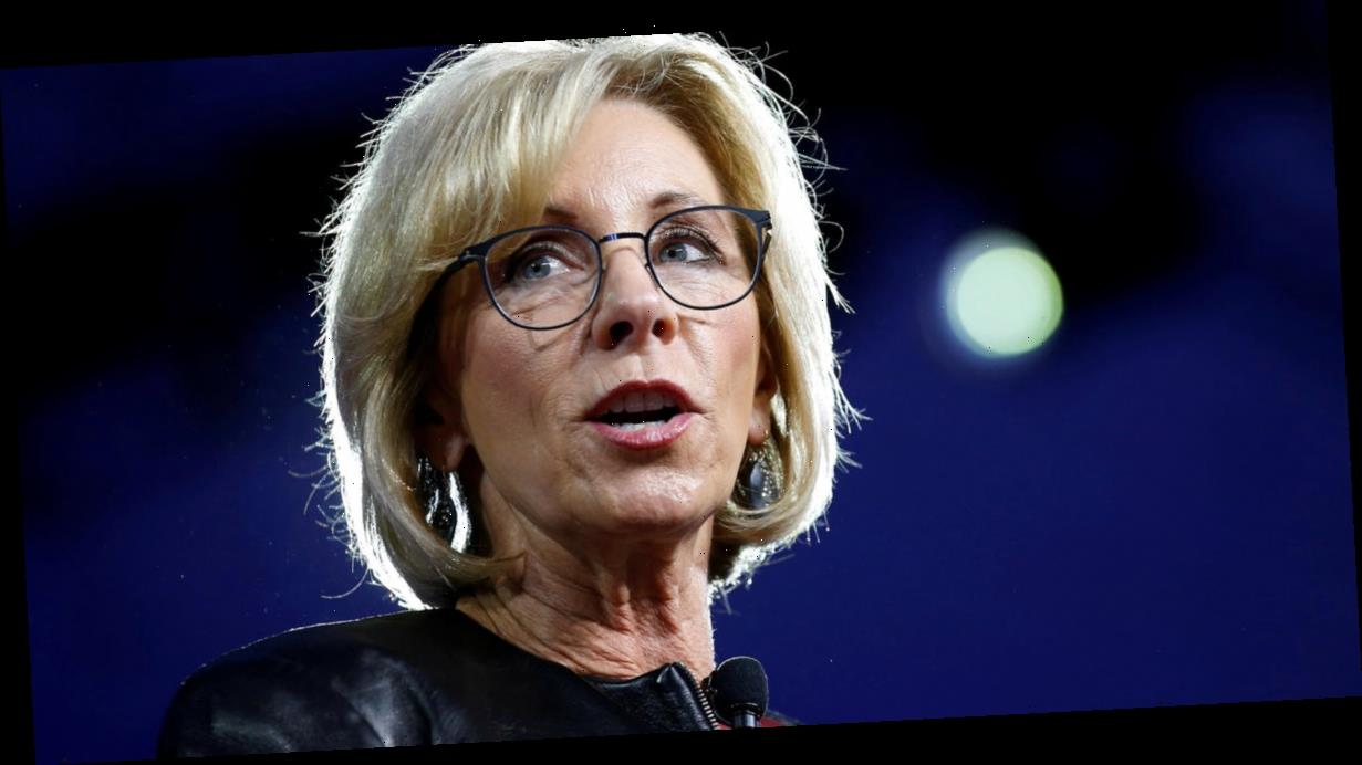 Betsy DeVos urges Congress to reject student loan forgiveness in apparent farewell letter