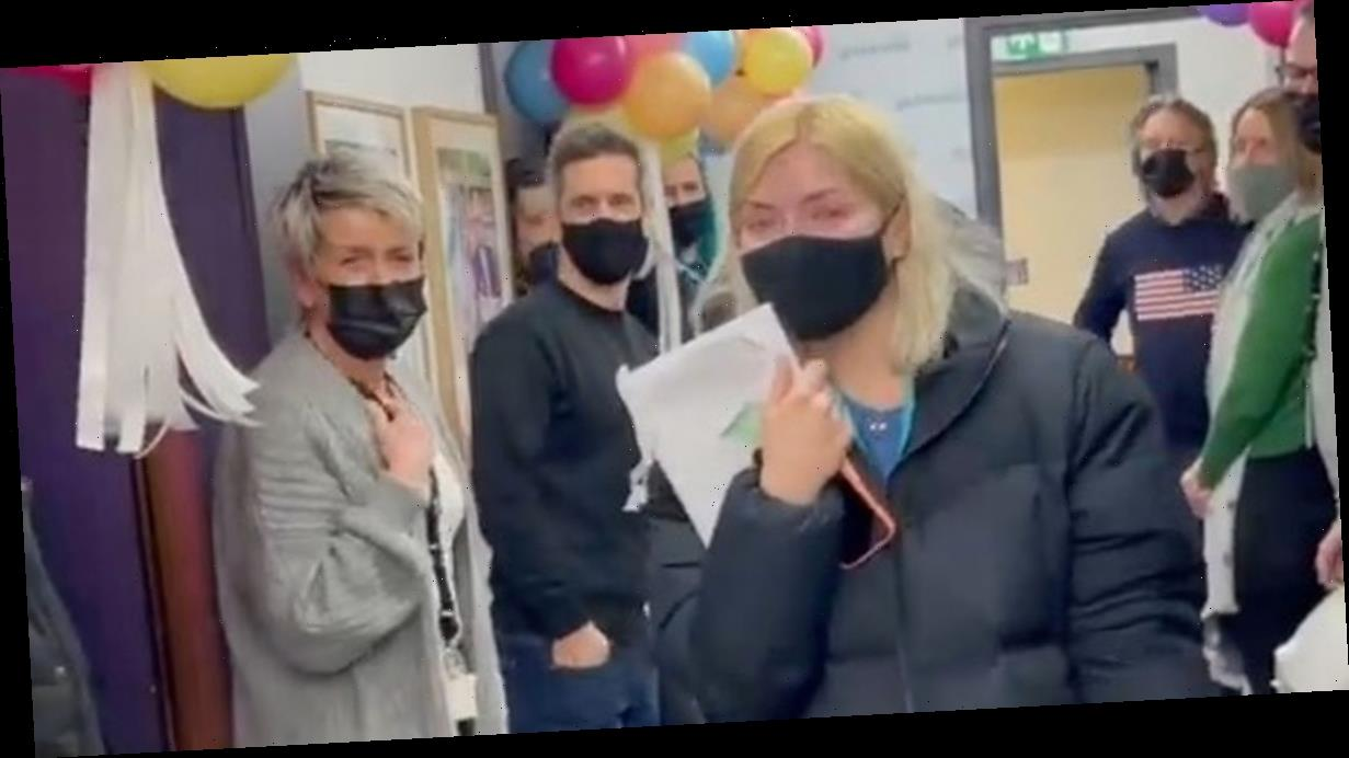 Holly Willoughby in floods of tears over birthday surprise from This Morning