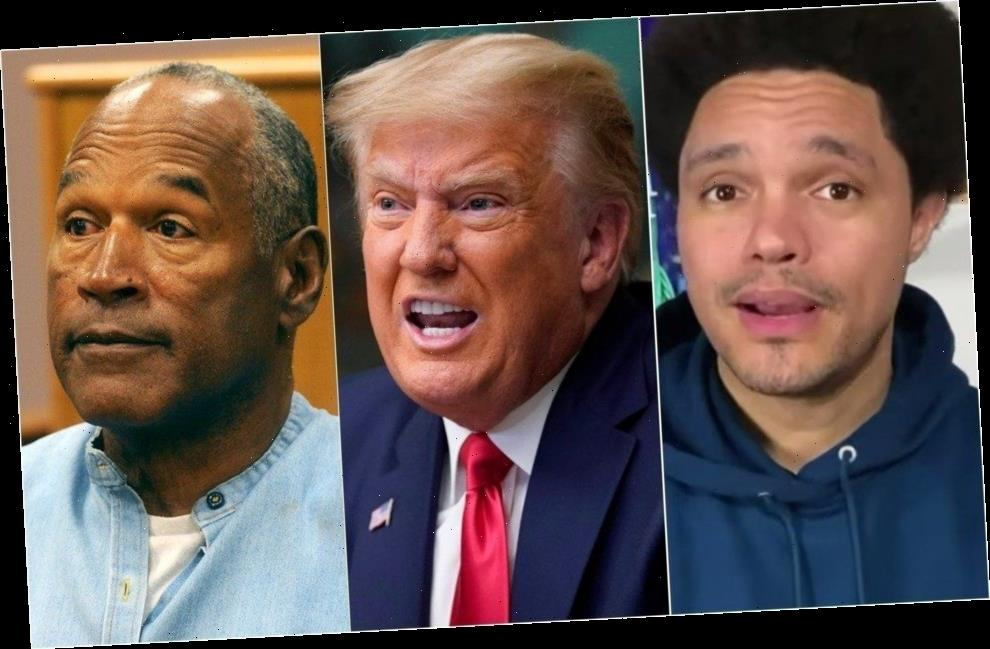 Trevor Noah Shows How Trump Just Beat OJ Simpson In The Worst Possible Way