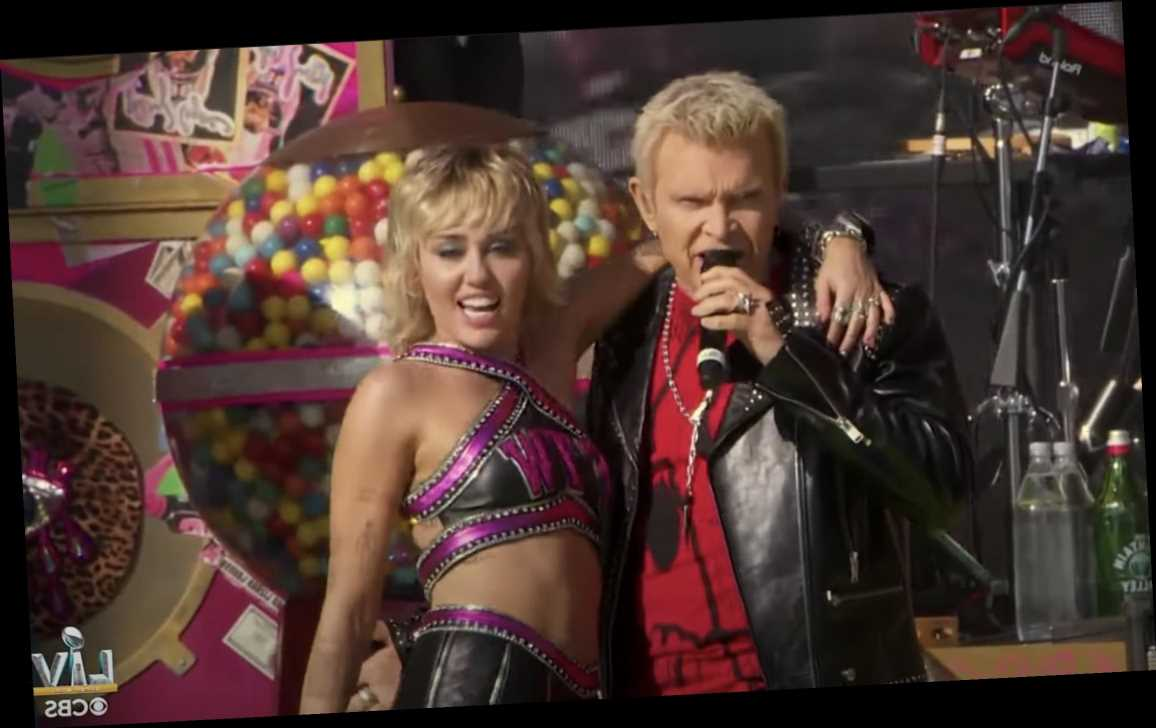 Watch Miley Cyrus Headline Super Bowl LV Tailgate, Bring Out Billy Idol