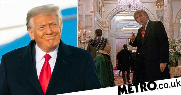 Donald Trump's first direct statement since leaving is to boast about Home Alone