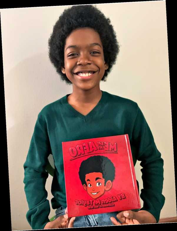 11-Year-Old Boy Writes Book Me and My Afro to Help Kids 'Love the Way They Are'