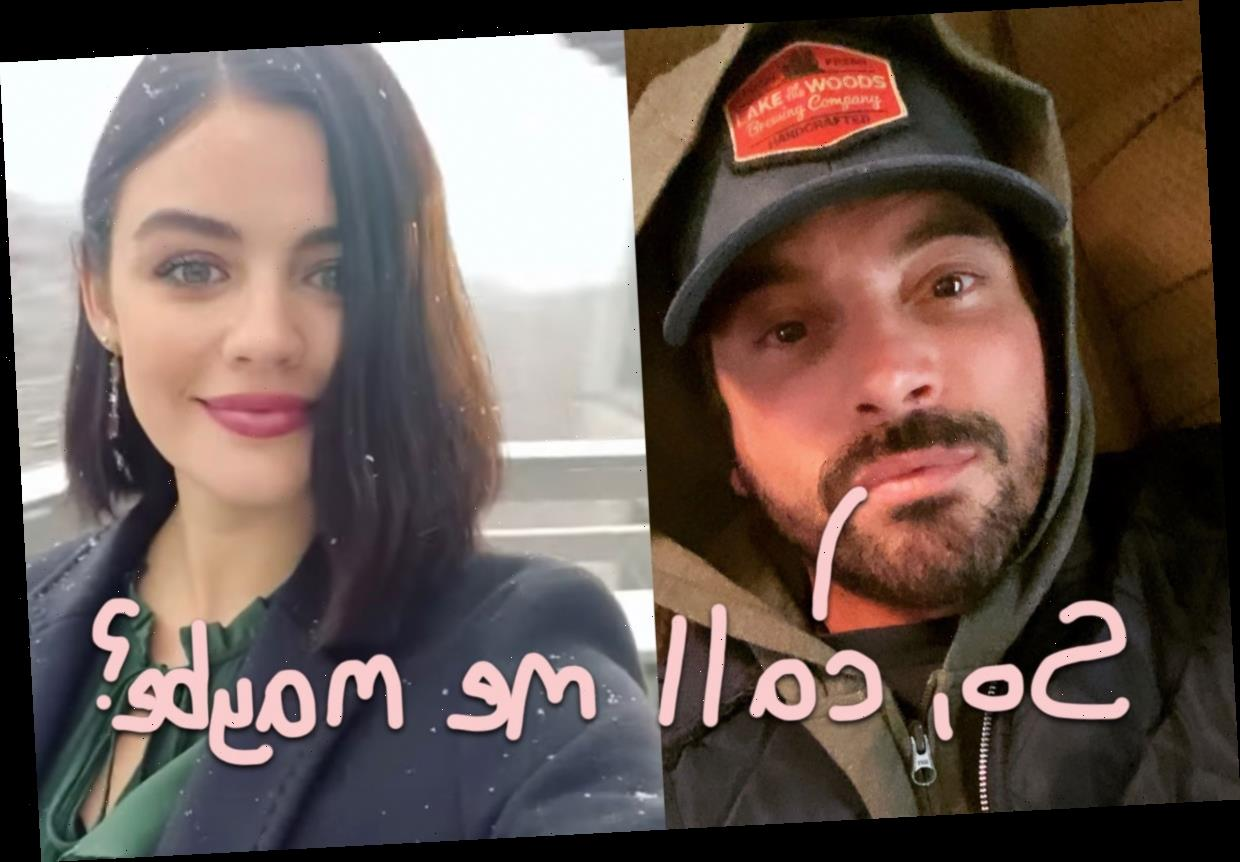 Couplin' Up! Skeet Ulrich Leaves Lucy Hale A Flirty IG Comment Following Up Last Week's PDA!