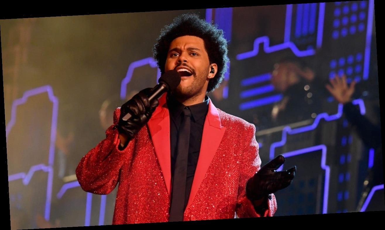 The Weeknd Performs His Classic Hits for Super Bowl Halftime Show